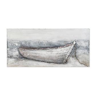 Maalaus Dekodonia Barco Käsinmaalattu (150 x 3 x 70 cm)
