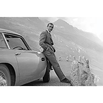 James Bond Connery Affisch