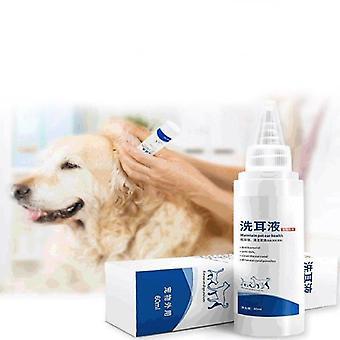 60ml lemmikkieläimet puhdistusaine koiran korvatippa