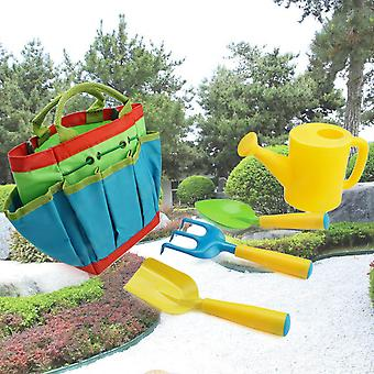 Lasten puutarhatyökalut setti - Kastelu lapio rake trowel puutarha laukku