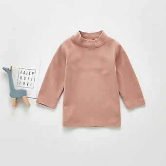 Vastasyntynyt Vauvan pitkähihaiset toppahousut T-paita Vauvan kiinteät puserot