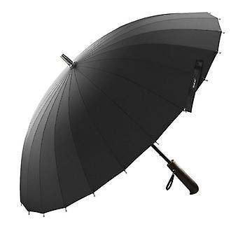 Creative Handle 24k Strong Windproof High Quality Business Umbrella Rain Women
