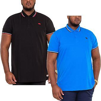 Duke D555 Mens Allante Big Tall King Size Polo Shirt T-Shirt Tee Top