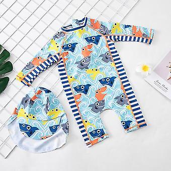 Traje de baño baby one piece, traje de baño (set-2)