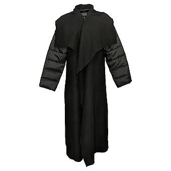 G By Giuliana Women's Black Label Drama Coat Black 719191