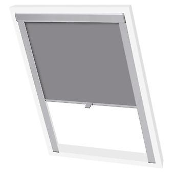 vidaXL Blackout roller blind Grey MK04