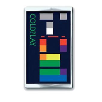 Coldplay X & Y Album -yhtyeen logo uusi Virallinen metallinen Pin Badge