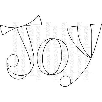 Lindsay Mason Designs Zendoodle Joy A6 Clear Stamp
