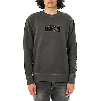 Tommy jeans tjm tonal corp logo équipage sweat-shirt dm0dm10200.bds