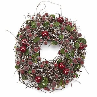 Heaven Sends Small Frosted Berry Wreath