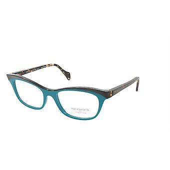 Face A Face Eyeglasses Frame GILDA 2 Col. 3036 Acetate Dark Opaque Turquoise