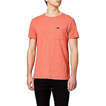 Lee Ultimate Pocket Tee T-Shirt, Aurora Red, S Men's
