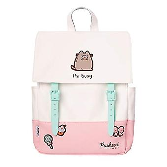 Erik - Pusheen Rose Collection multifunction casual backpack, ideal as a school backpack or for out-of-door trips, 38x30x11 cm