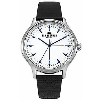 Reloj de pulsera analógico clásico de cuarzo De Ben Sherman WB018S
