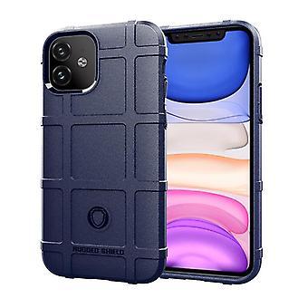 Étui en fibre de carbone Tpu pour iphone 11 bleu mfkj-1844