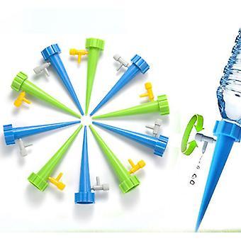 4Pcs/6Pcs Auto Droppbevattning vattning System Dripper Spike Kits trädgård hushåll växt blomma automatisk vattenvattenverktyg