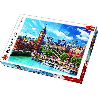 Aurinkoinen päivä Lontoossa Palapeli - 500 kappaletta
