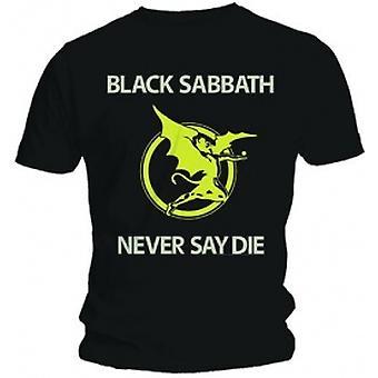 Black Sabbath Never Say Die Black T Shirt: Medium