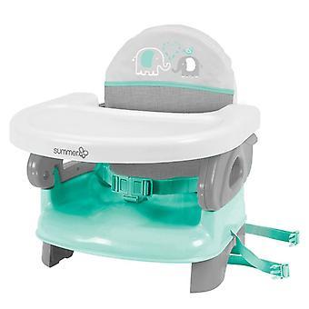 Summer Infant Deluxe Comfort taittuva booster-istuimen sinivihreä