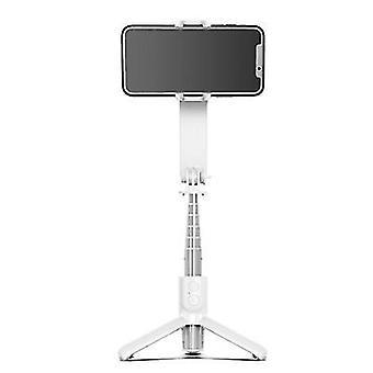 Extendable Wireless Bluetooth Selfie Stick Tripod, Phone anti-shake shooting stabilizer(White)