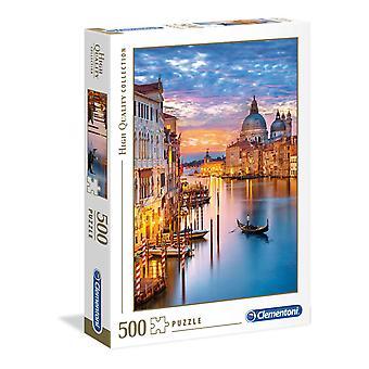 Clementoni Iluminación Venecia Rompecabezas de alta calidad (500 Piezas)