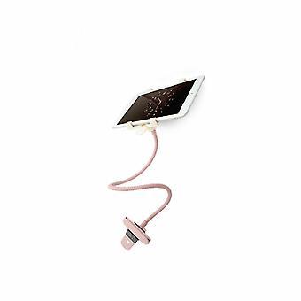 Waterman 360 graden klem tablethouder voor slimme apparaten - Roségoud