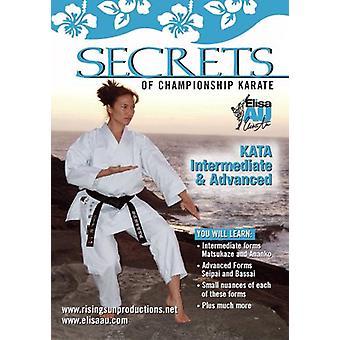 Secrets Championship Karate Kata Intermedio Avanzado Dvd Au -Vd7098A