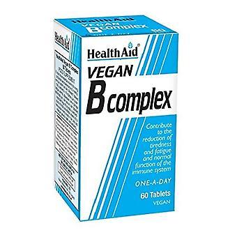 HealthAid Vegaaniset B Complex Tabletit 60 (801022)