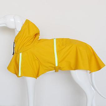 Vedenpitävä heijastava koiran sadetakki