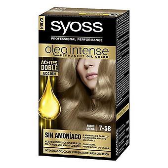 Permanent färg olio intensiv Syoss Nº 7,58 Blond Arena