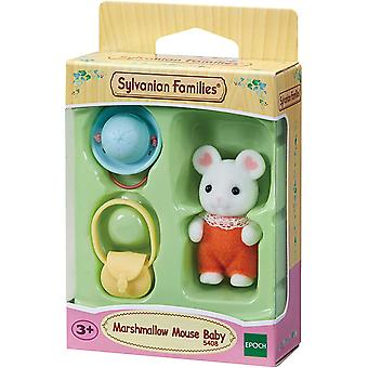 Sylvanian Familier 5408 Marshmallow Mus Baby