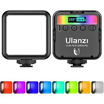 Led Camera Light 360 Full Color Portable Photography Lighting Lamp Support