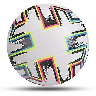 2021 Mais novo jogo bola de futebol tamanho padrão 5 bola de futebol pu material de alta qualidade liga esportiva