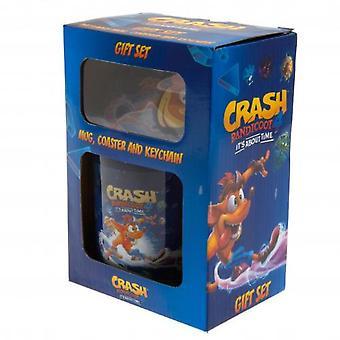 Crash Bandicoot Mug And Coaster Set