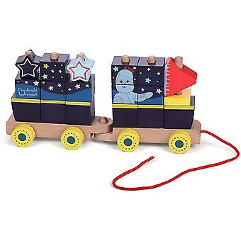 In The Night Garden Wooden Stacking Train