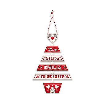 History & Heraldry Christmas Tree Decoration - Emilia 269800270 Wooden Hand Crafted
