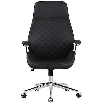 Toimistotuoli - Pöytätuoli - Kotitoimisto - Moderni - Musta - Metalli - 74 cm x 64 cm x 116 cm
