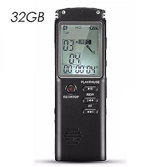 Hochwertige 8g / 16g / 32g wiederaufladbare Diktiergerät Digital Audio Recorder Voice Recorder Mp3 Player