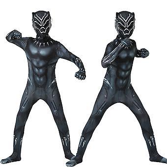 Black Panther Halloween Kinder Jungen Jumpsuit Cosplay Performance Kostüm