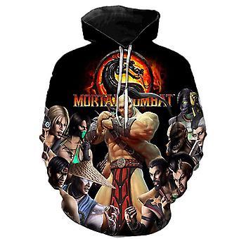 Mortal Kombat 11 New Anime Game 3d Sweater Hoodie