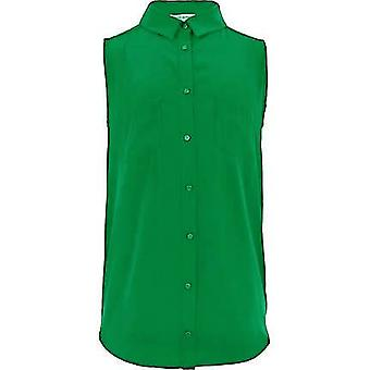 River Island Green Sleeveless Girls Shirt