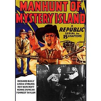 Manhunt of Mystery Island [DVD] USA import
