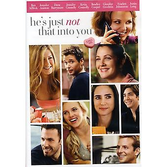 He's Just Not That Into You [DVD] USA import