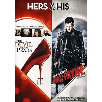 Teufel trägt Prada/Max Payne [DVD] USA importieren