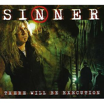 Sinner - There Will Be Execution [CD] USA import