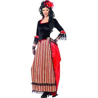 Westerse Womens jurk Sedan westerse dames kostuum