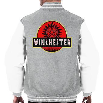 Supernatural Jurassic Park Winchester muži ' s univerzitnú bundu