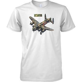 Avro Lancaster bombardero - WW2 legendario avión de bombardero militar - para hombre T Shirt