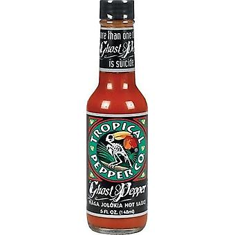 Tropical poivre Co. Ghost Pepper Sauce piquante