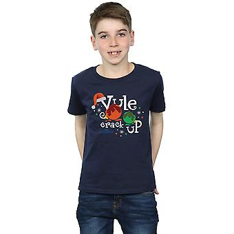 National Lampoon's Christmas Vacation Boys Yule Crack Up T-Shirt